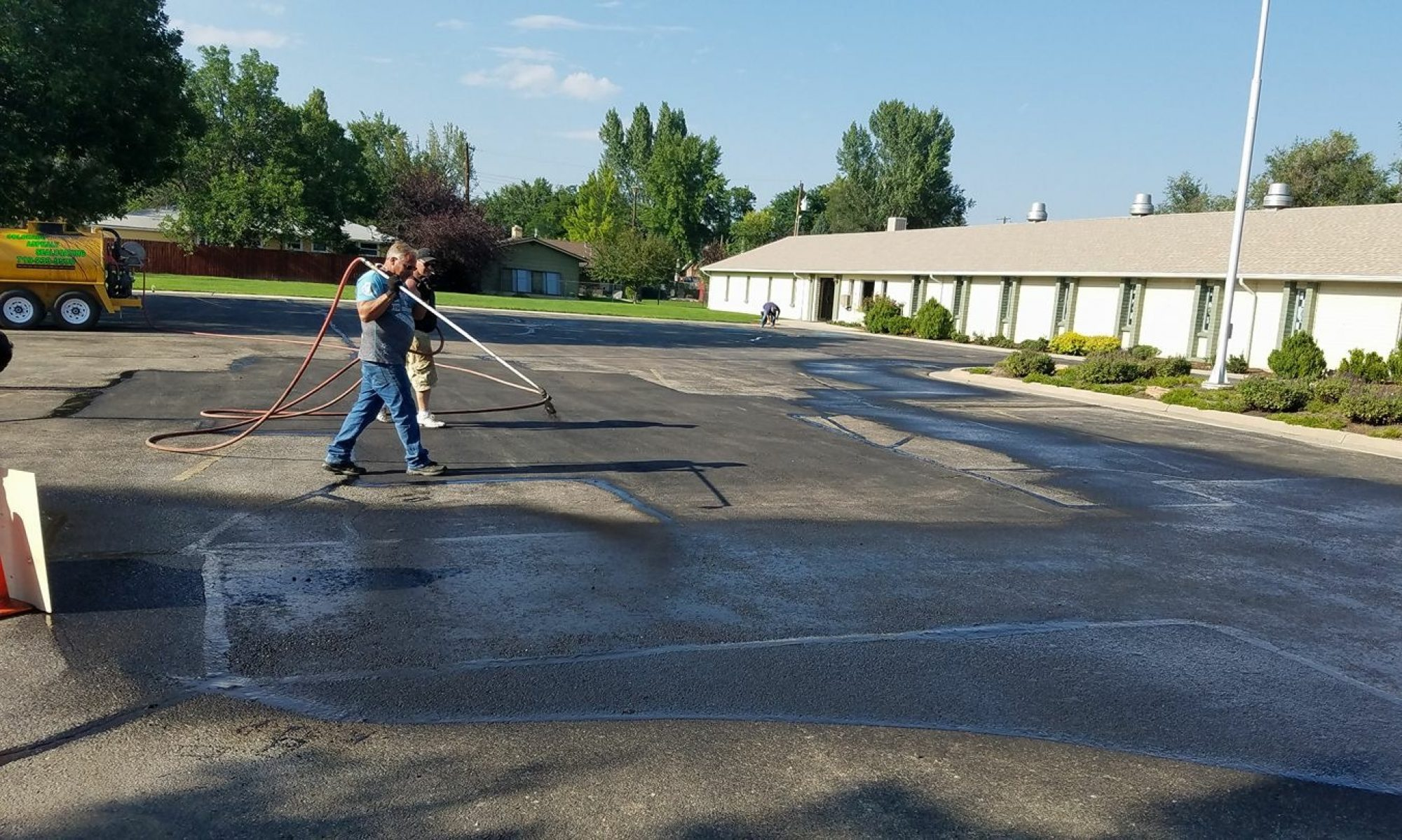 Colorado Asphalt Sealcoating